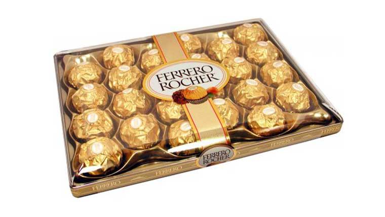 Chocolate ngon nổi tiếng