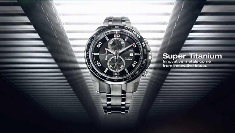 Đồng hồ Citizen Super Titanium