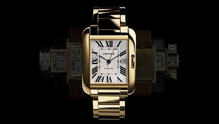 Cartier Anglaise watch