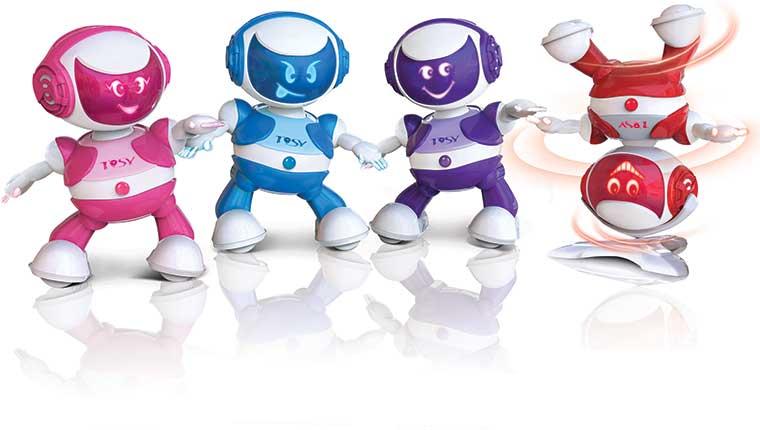 Robot nhảy tosy Discorobo