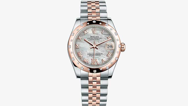 Rolex Datejust Ladies Watch 2014