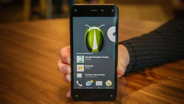 Amazon Fire Phone fiery