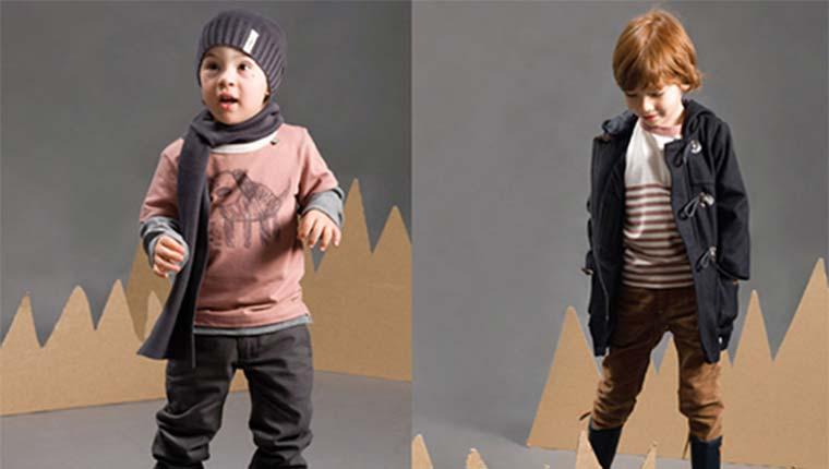 Áo măng tô trẻ em