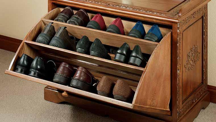 Chọn mua tủ đựng giày