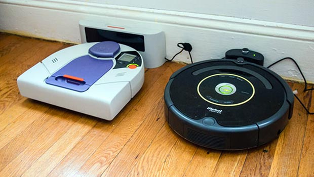 Máy hút bụi Neato và Roomba