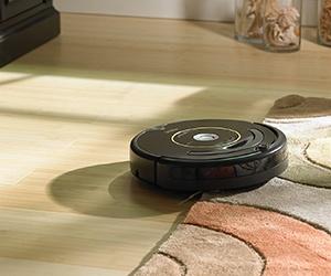 Máy hút bụi iRobot Roomba 650 xác định mục tiêu bằng hệ thống cảm biến