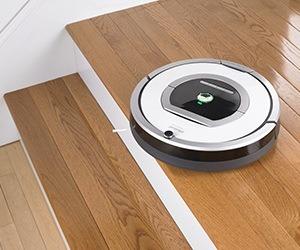 Máy hút bụi thông minh iRobot Roomba 760 làm sạch thảm
