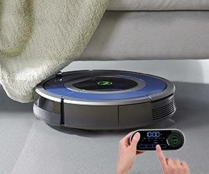 Robot hút bụi iRobot Roomba 790 hình dạng rất độc đáo