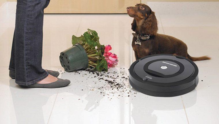 Máy hút bụi iRobot Roomba giũ cho sàn nhà luôn sạch sẽ