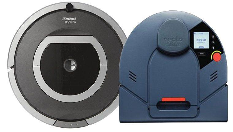 Neato và Roomba thương hiệu sản xuất robot nổi tiếng