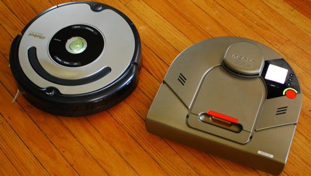 So sánh robot hút bụi Neato và Roomba