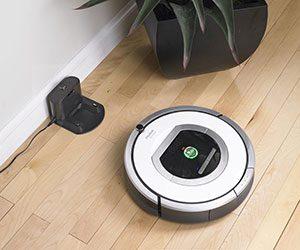 Roomba 760 là hai bàn chải được lắp mô tơ