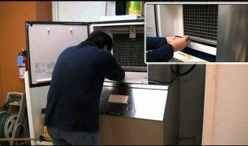 Đơn giản cho vệ sinh máy