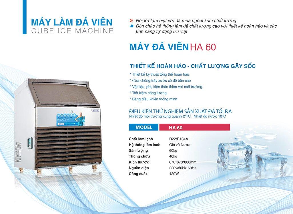 Thông tin máy làm đá Hải Âu HA 60