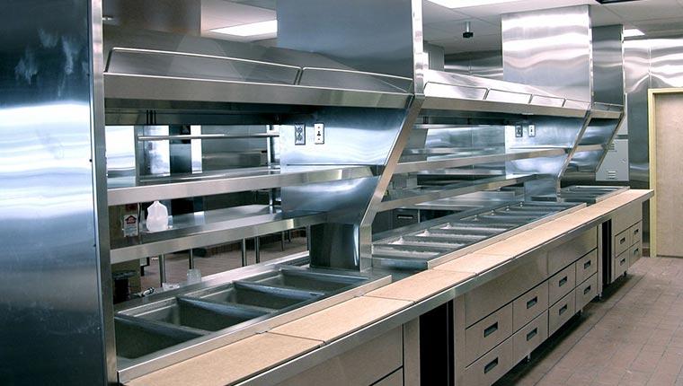 Bố trí bếp công nghiệp nhà hàng
