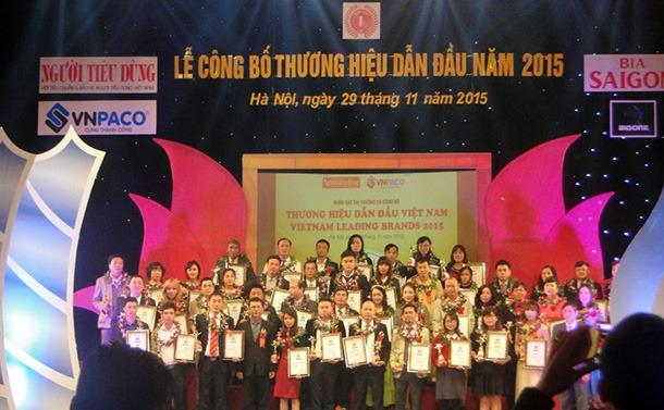 Máy làm đá Hải Âu thuộc top 100 thương hiệu dẫn đầu Việt Nam