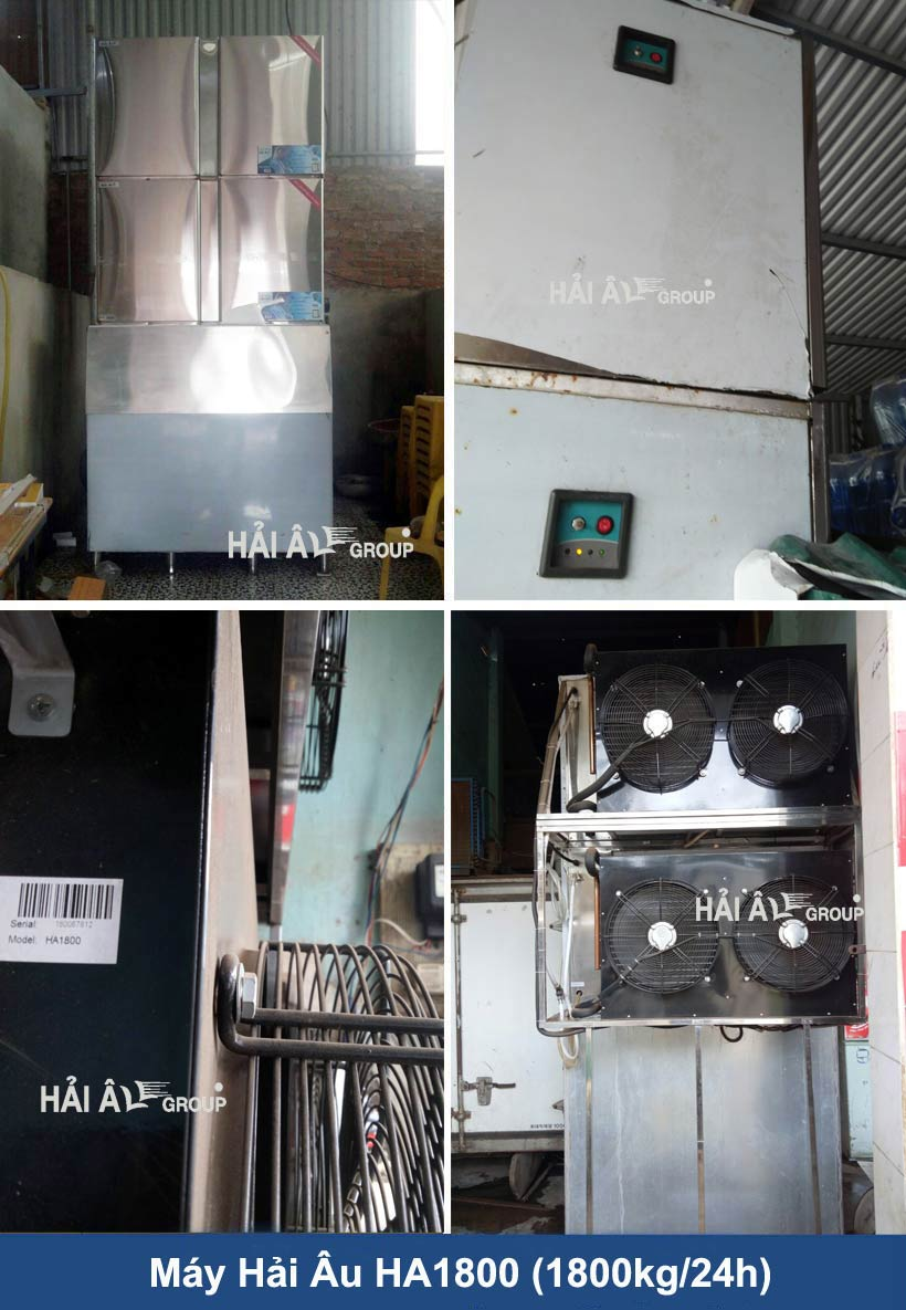 Máy HA1800-Hai Au Group sửa chữa máy đá viên chuyên nghiệp