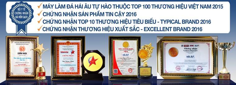 Các chứng nhận của Hải Âu Việt Nam