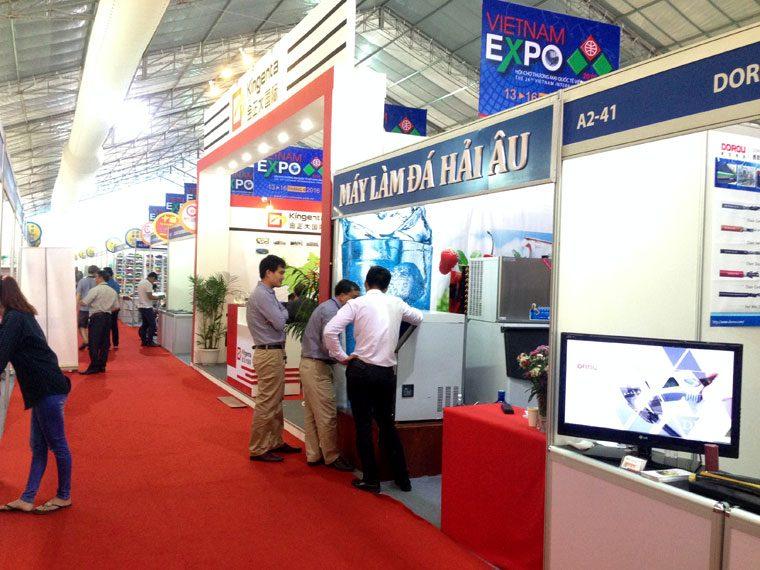 Hải Âu tại Hội chợ Thương mại Quốc tế Việt Nam (VIETNAM EXPO 2016)