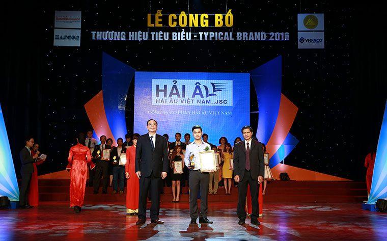 Hải Âu Việt Nam thương hiệu tiêu biểu 2016