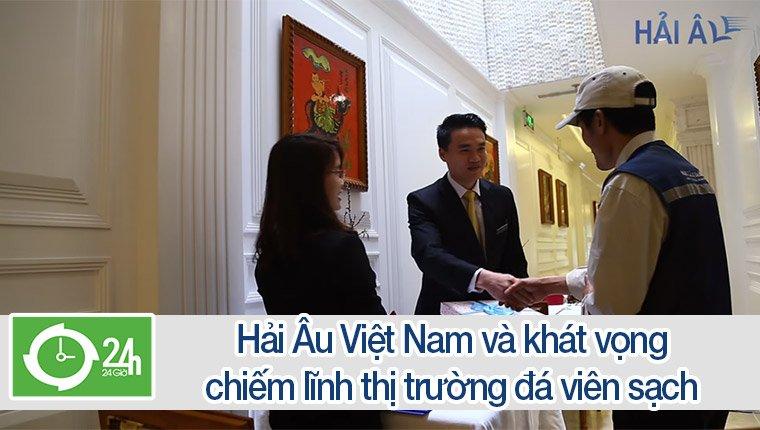 Hải Âu Việt Nam và khát vọng chiếm lĩnh thị trường đá viên sạch