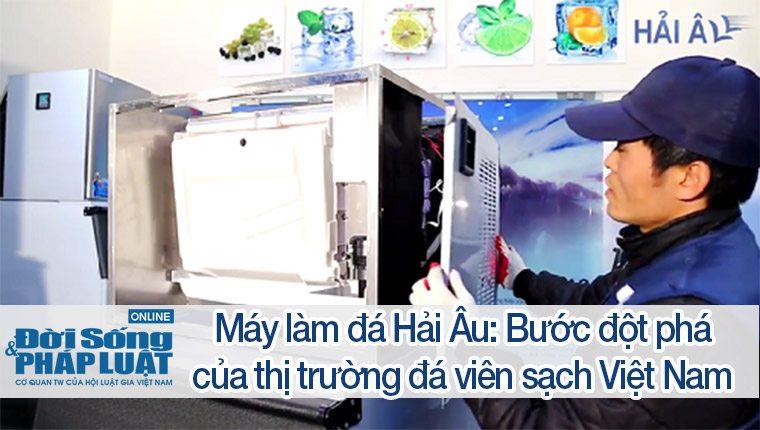 Máy làm đá Hải Âu: Bước đột phá của thị trường đá viên sạch Việt Nam