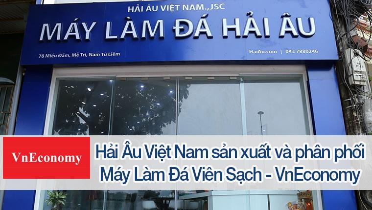 Hải Âu Việt Nam sản xuất và phân phối máy làm đá viên sạch