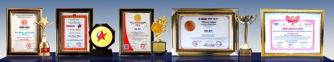 Các giải thưởng công ty cổ phần Hải Âu Việt Nam