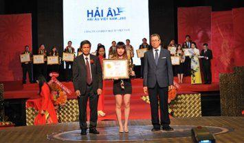 Hải Âu Việt Nam top thương hiệu xuất sắc 2016