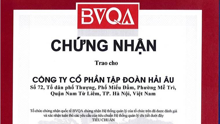 Chứng nhận ISO 9001:2008