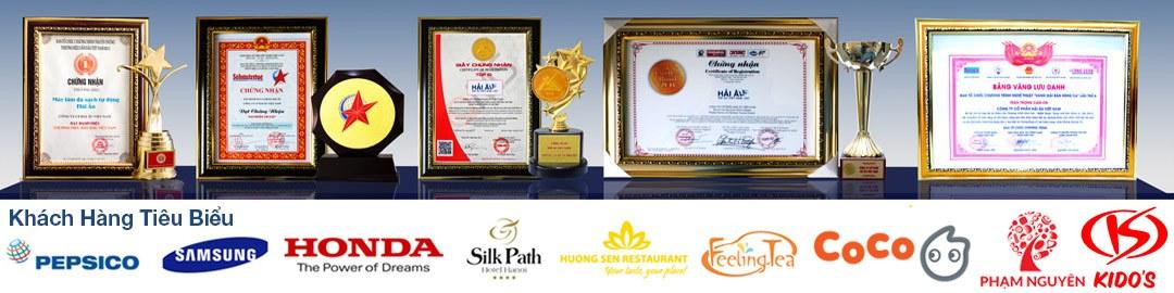 Các giải thưởng tập đoàn Hải Âu