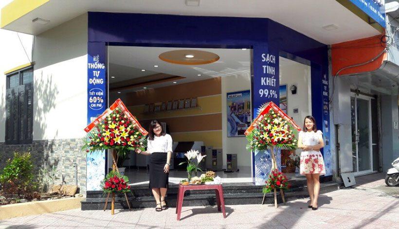 Hình ảnh khai trương showroom Máy Làm Đá Hải Âu tại Nha Trang
