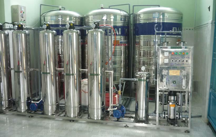 xử lý hệ thống nước tinh khiết