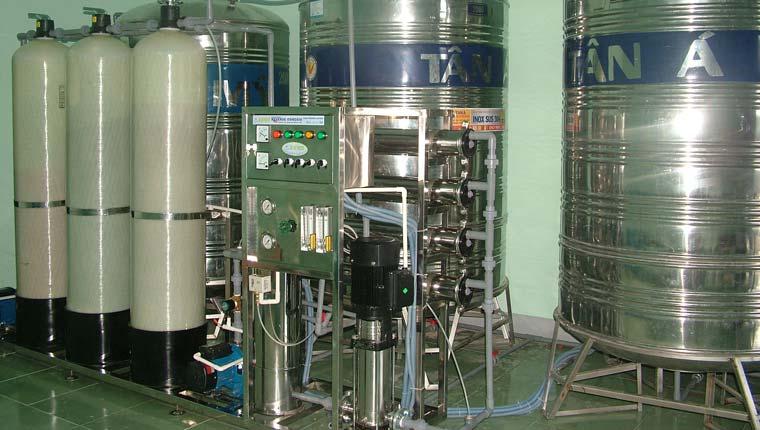 Chức năng từng bộ phận trong thiết bị xử lý hệ thống lọc nước