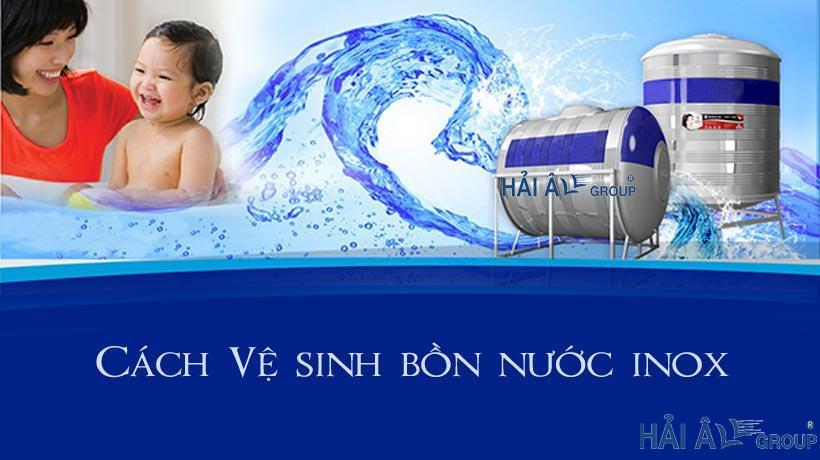 Bồn nước inox - giải pháp cho nguồn nước sạch