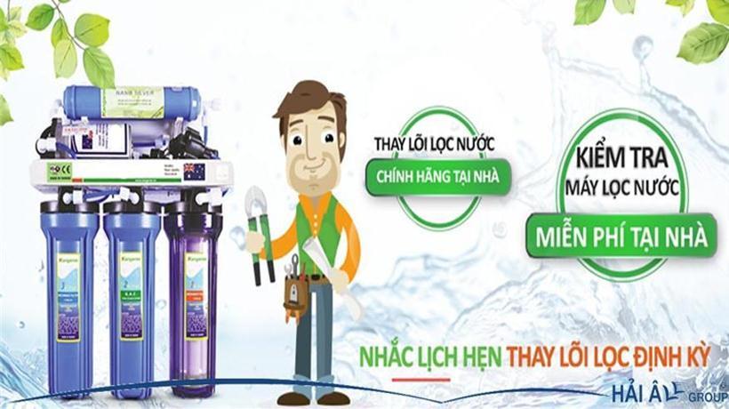 Các dịch vụ kiểm tra sửa chữa máy lọc nước trên thị trường