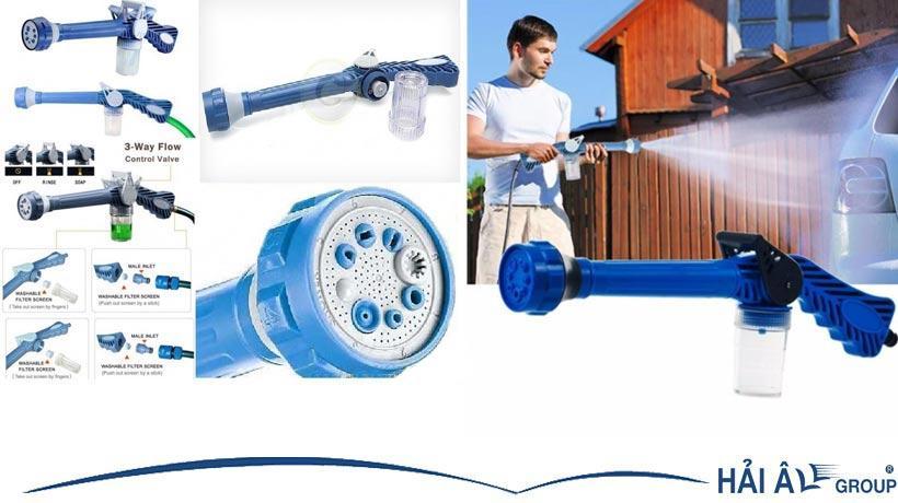 Vòi xịt nước tăng áp thông thường