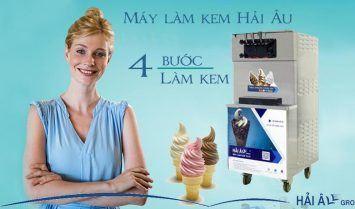 4 buoc lam kem bang may
