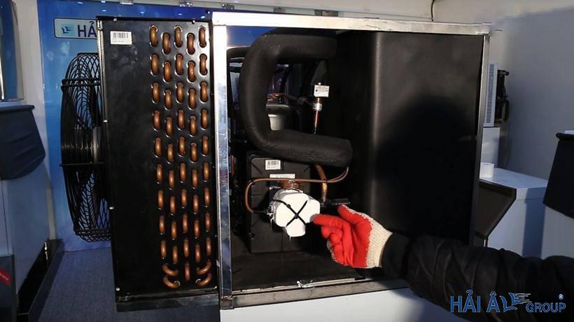 bên trong hệ thống làm lạnh ha 300