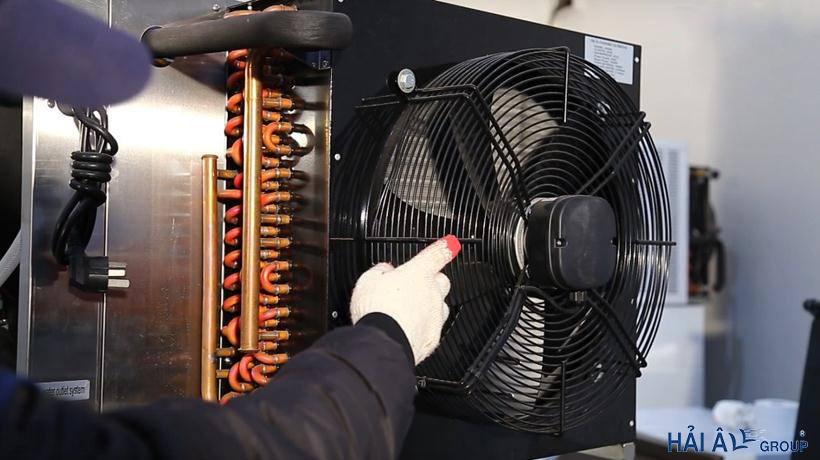 dàn nóng và quạt tản nhiệt ha 300
