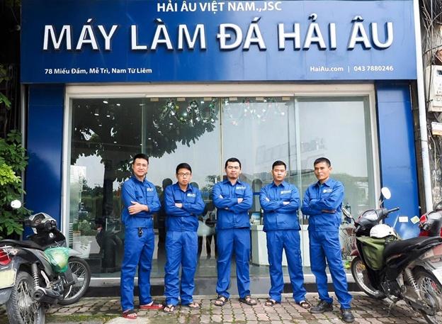 Đội hình Kỹ thuật viên tại Khu vực Hà Nội đã sẵn sàng.