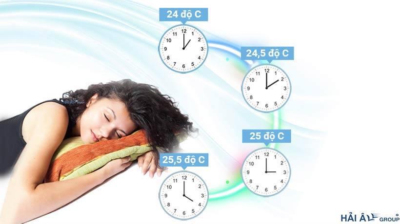 Nên sử dụng chế độ đặt giờ thay đổi nhiệt điều hòa