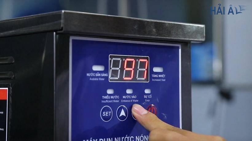 Sử dụng máy đun nước theo đúng hướng dẫn sử dụng