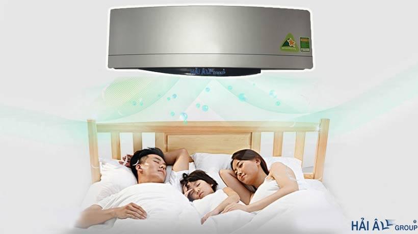 Bạn có thể hẹn giờ tắt điều hòa khi ngủ