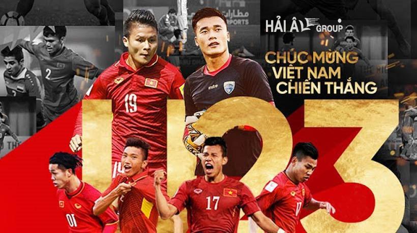 Tập Đoàn Hải Âu Tưng Bừng Cổ Vũ U23 Việt Nam – Chung Kết Giải Châu Á 2018