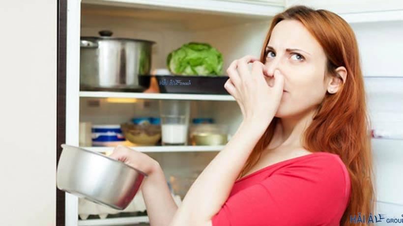 Tủ lạnh có mùi khó chịu