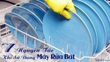 Bạn Đã Biết 7 Nguyên Tắc Dùng Máy Rửa Bát Hiệu Quả?