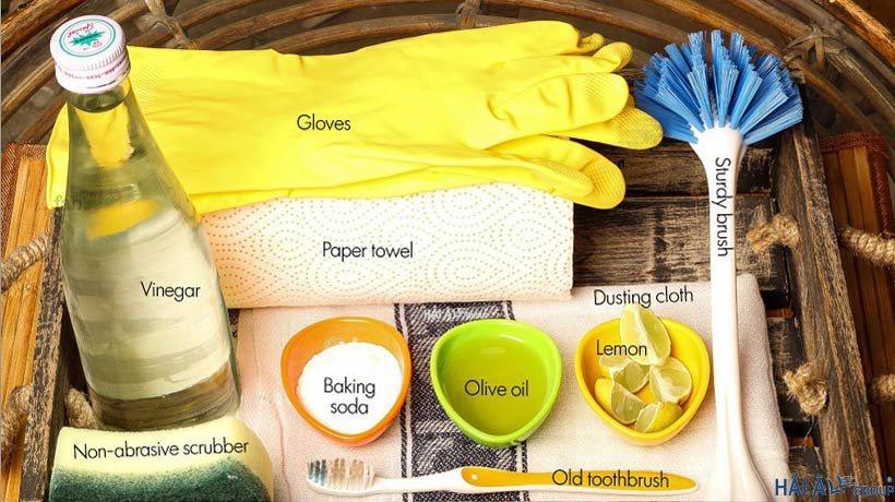 Các vật dụng và hóa chất cần chuẩn bị