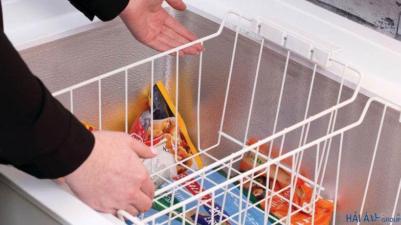 Sắp xếp bảo quản thực phẩm trong tủ đông không hề đơn giản