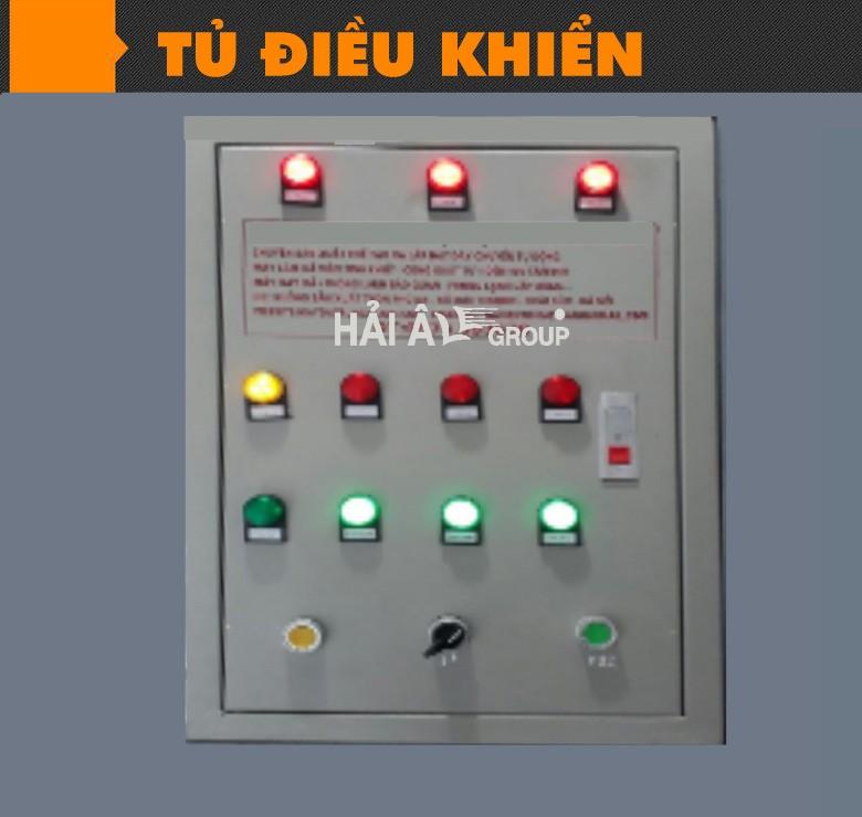 tủ điều khiển - máy đá viên công nghiệp hải âu
